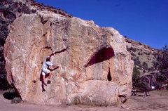 Rock Climbing Photo: BH on Big Block.