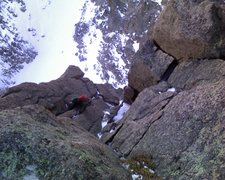 Rock Climbing Photo: Is it Colorado or Patagonia?  Chris Reinholt midwa...