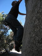 Rock Climbing Photo: elephant man