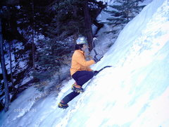 Rock Climbing Photo: Bigwall soloing everything around. 12/31/2007. The...