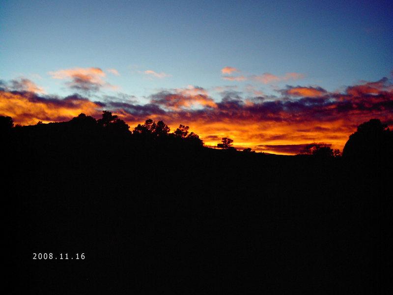 Sunset Pikes Peak