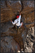 Rock Climbing Photo: Crackerjack 5.9- at High wire