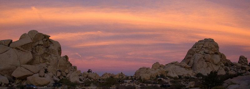 Sunrise over Hidden Valley