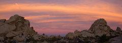 Rock Climbing Photo: Sunrise over Hidden Valley