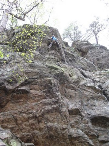 Rock Climbing Photo: Richard on Niederman (5.10C, sport)