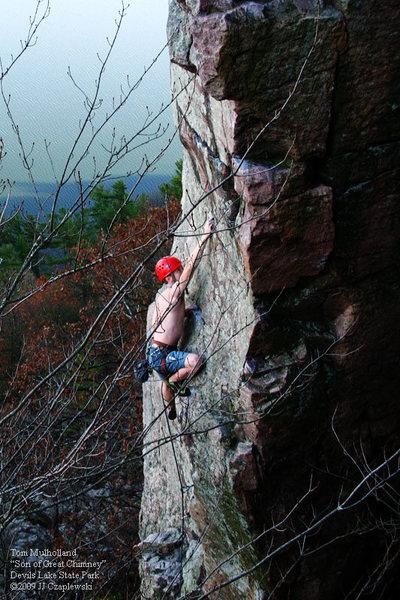 Rock Climbing Photo: Tom Mulholland