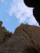 Joe heading up