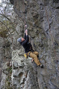 Rock Climbing Photo: GWAR crux