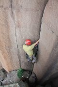 Rock Climbing Photo: Max Tepfer on Two Step Left.