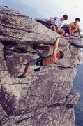 Rock Climbing Photo: Boardwalk, Shiprock, NC
