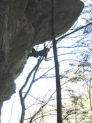 Rock Climbing Photo: Moktau, Little Wilsons, NC