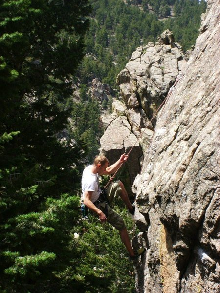 Rock Climbing Photo: Jon Zucco.