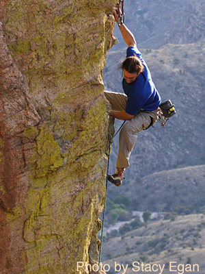 Rock Climbing Photo: Adam Block