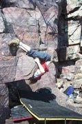 Rock Climbing Photo: Beta for saddle sores. Not sure where I got the pi...