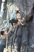Rock Climbing Photo: The Zipper.   Not my photo, and I have no idea who...