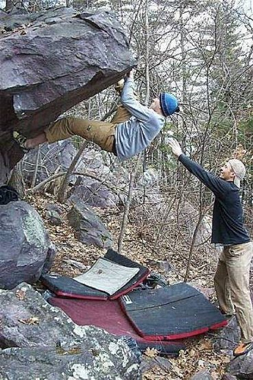 """Rock Climbing Photo: Photo I found on my computer. Labeled """"X To T..."""