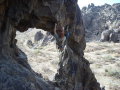 Rock Climbing Photo: No Travesty here.  This is a fun climb!
