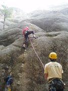 Rock Climbing Photo: Climbing at the Heap outside of Missoula