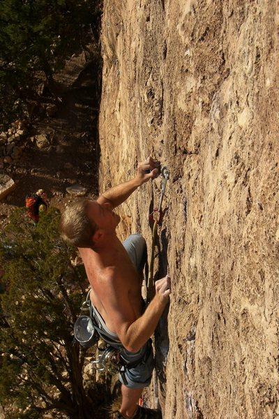 Rock Climbing Photo: Thin.