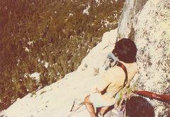 Rock Climbing Photo: Tahquitz, brother Jim and Ken C.