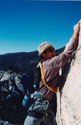 Rock Climbing Photo: clowning around, Tahquitz
