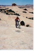 Rock Climbing Photo: Slickrock climbing...Utah