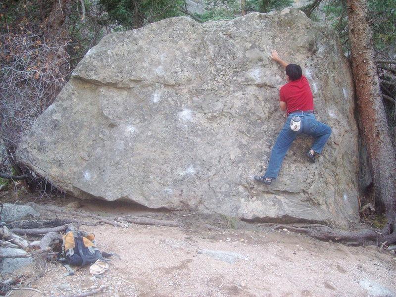 Rock Climbing Photo: Castaway Block.