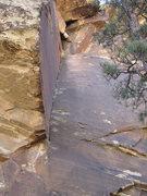 Rock Climbing Photo: Bobby's Fissure - 5.10+