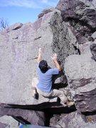 Rock Climbing Photo: On the tusk.
