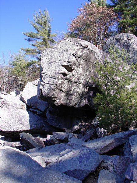 Cool boulder.