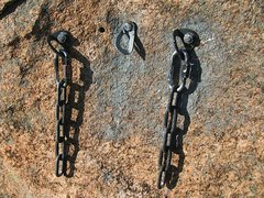 """Rock Climbing Photo: """"Five Years After"""" anchor remediation. S..."""