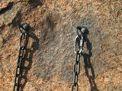 """Rock Climbing Photo: """"Fiver Years After"""" anchor remediation. ..."""
