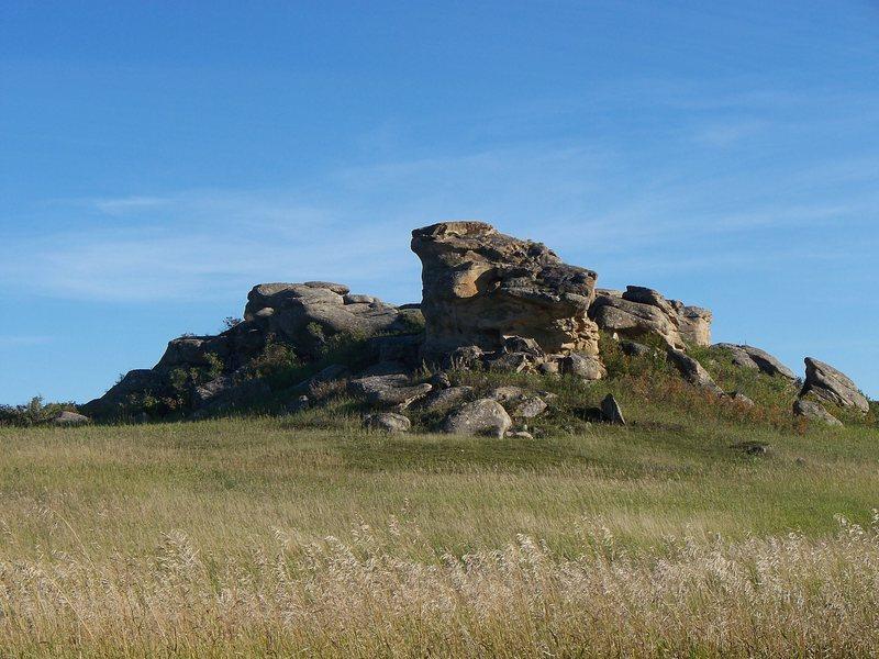 Regan rocks, north boulder