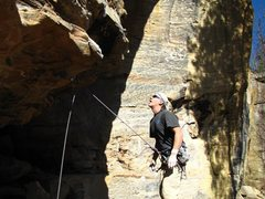 Rock Climbing Photo: The start of Toker
