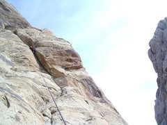Rock Climbing Photo: In the Crack ... Photo Pat Moe