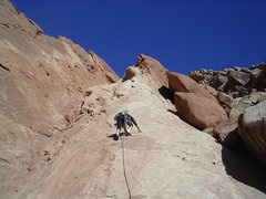 Rock Climbing Photo:  Starting the first pitch. photo Pat Moe