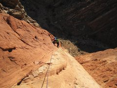 Rock Climbing Photo: Second pitch