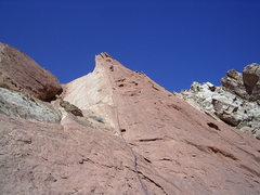 Rock Climbing Photo: Pitch 5 . photo Pat Moe