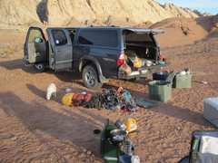 Rock Climbing Photo: Camp site