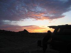 Rock Climbing Photo: Dawn.