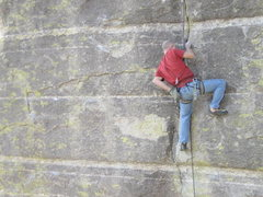 Rock Climbing Photo: Golden Beaver left after placing the last piece be...