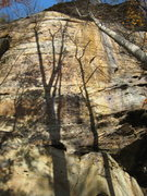 Rock Climbing Photo: Seppuku & Appalachian Spring from the ground.  Sep...