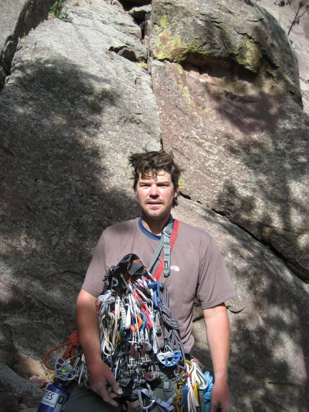 Rock Climbing Photo: After a day in Eldo 2005.