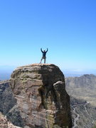Rock Climbing Photo: Hunchback Pinnacle, Mt. Lemmon.