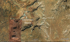 Rock Climbing Photo: Here is a Google Earth map showing the area.  The ...