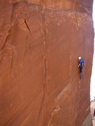 Rock Climbing Photo: Jeff Widen leading the first pitch of Trisstin's T...