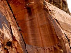 Rock Climbing Photo: brittney on mr peanut