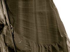 Rock Climbing Photo: mrs peanut on mr peanut