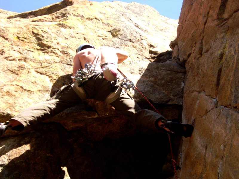 Rock Climbing Photo: Placing a bomber C4 0.3.