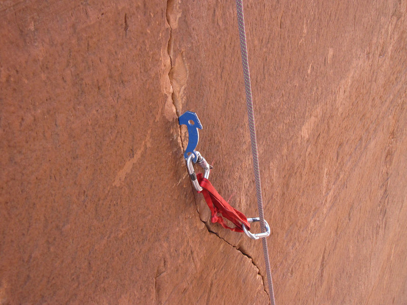 Rock Climbing Photo: Hand placed peckers?....   Oh yeah, that's the goo...